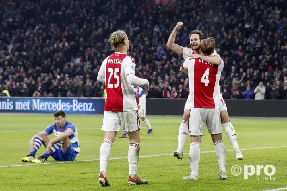 Ajax De Graafschap doelsaldo