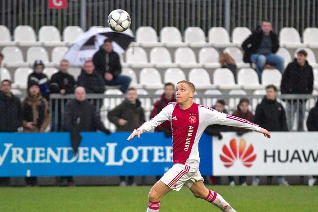 AjaxA1Watcher Van de Beek Ajax A1