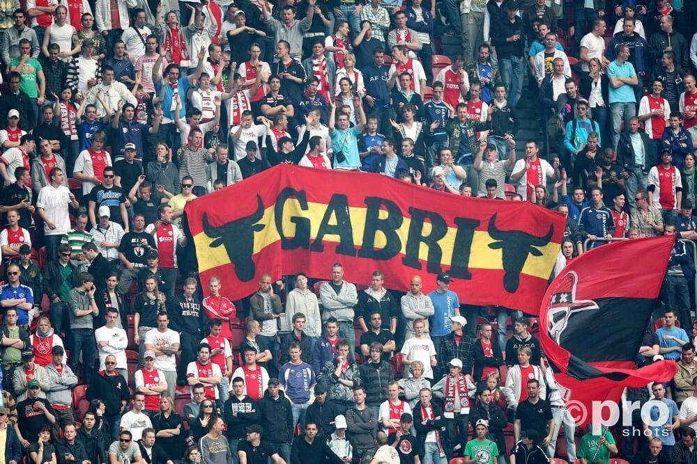 Spandoek voor Gabri