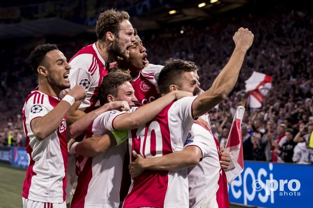 Ajax, UEFA Champions League, PAOK–Ajax