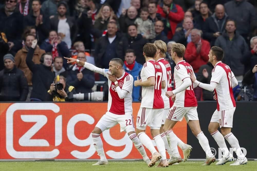 Ziyech Ajax Feyenoord