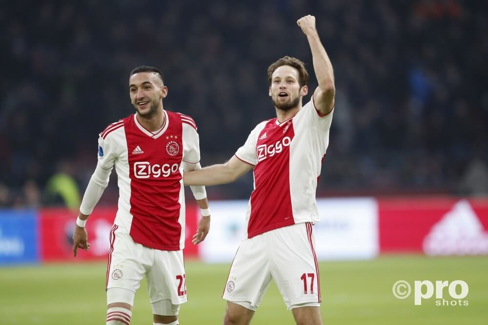 Hakim Ziyech & Daley Blind