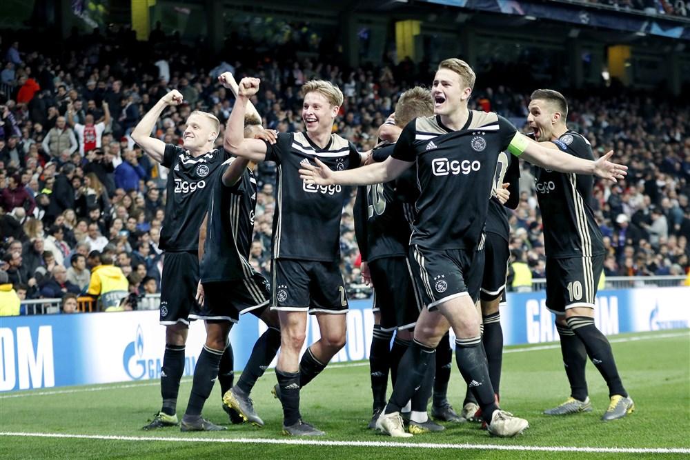 Real Madrid - Ajax kwartfinales doelpunt van het jaar