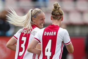 Ajax Vrouwen Stefanie van der Gragt