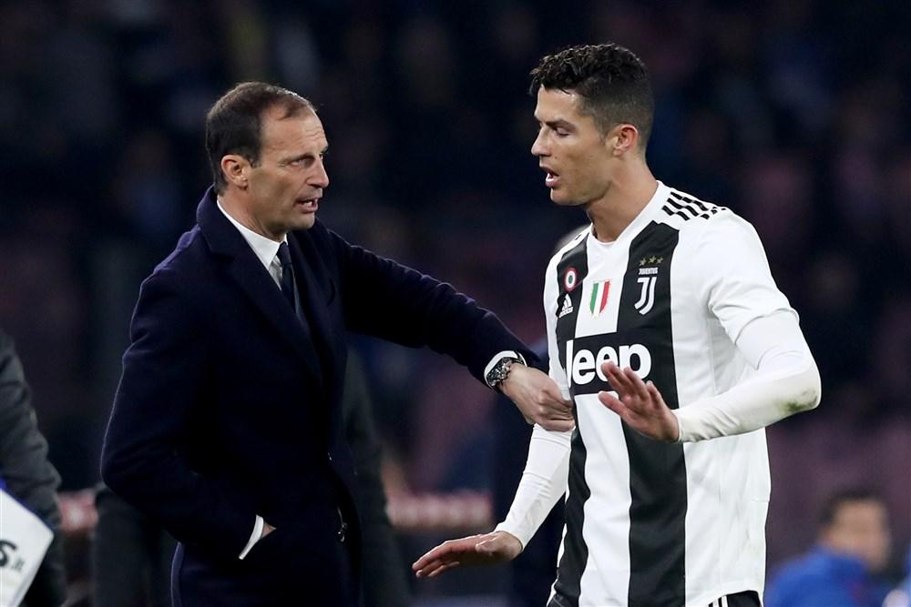 Allegri Ronaldo Juventus
