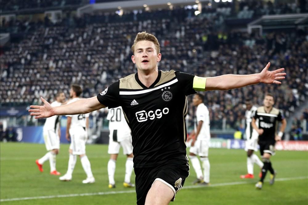De Ligt Juventus Ajax