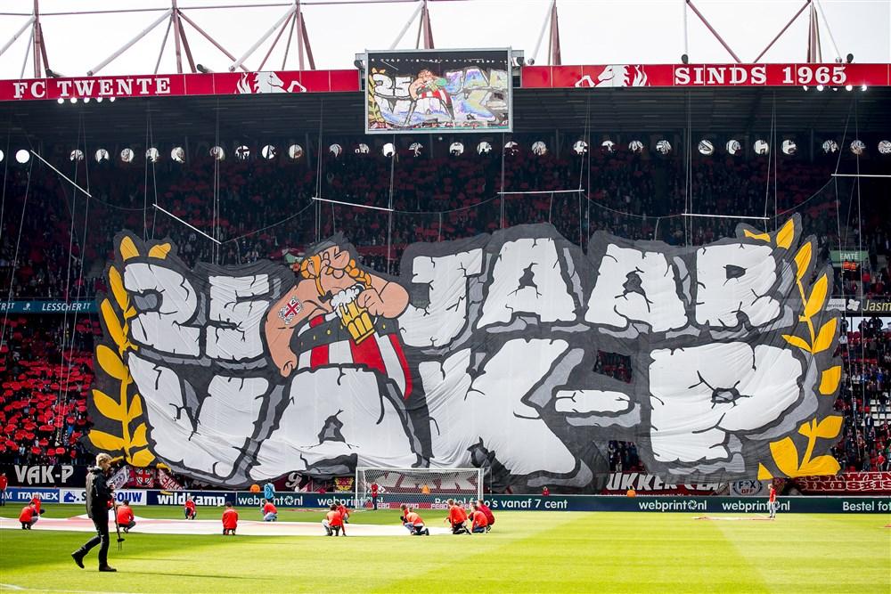 Vak P FC Twente kampioenswedstrijd