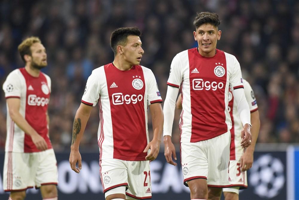 martinez alvarez opstelling Ajax in Lille