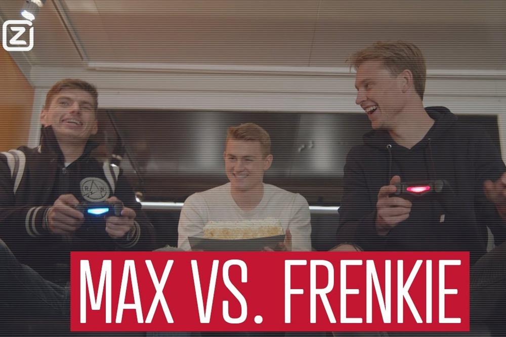 Frenkie de Jong Max Verstappen