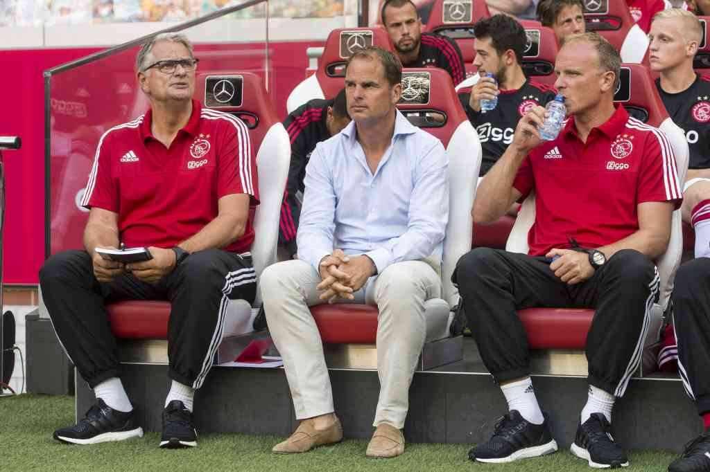 Hennie Spijkerman Frank de Boer Dennis Bergkamp