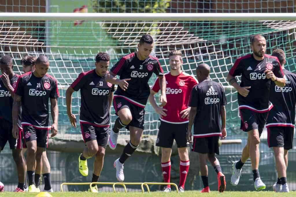 selectie Rapid Wien Anwar El Ghazi Jairo Riedewald