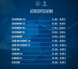 Kaartverkoop Sturm Graz uit