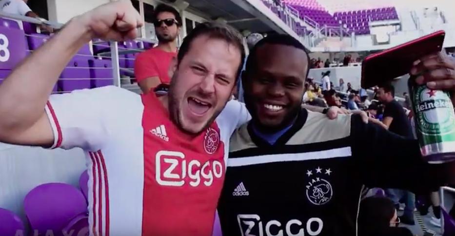Amerikaanse Ajax-supporters
