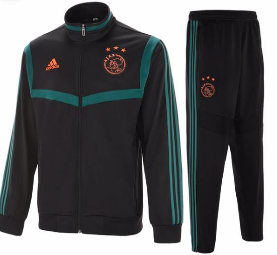 trainingscollectie van Ajax 2019/2020