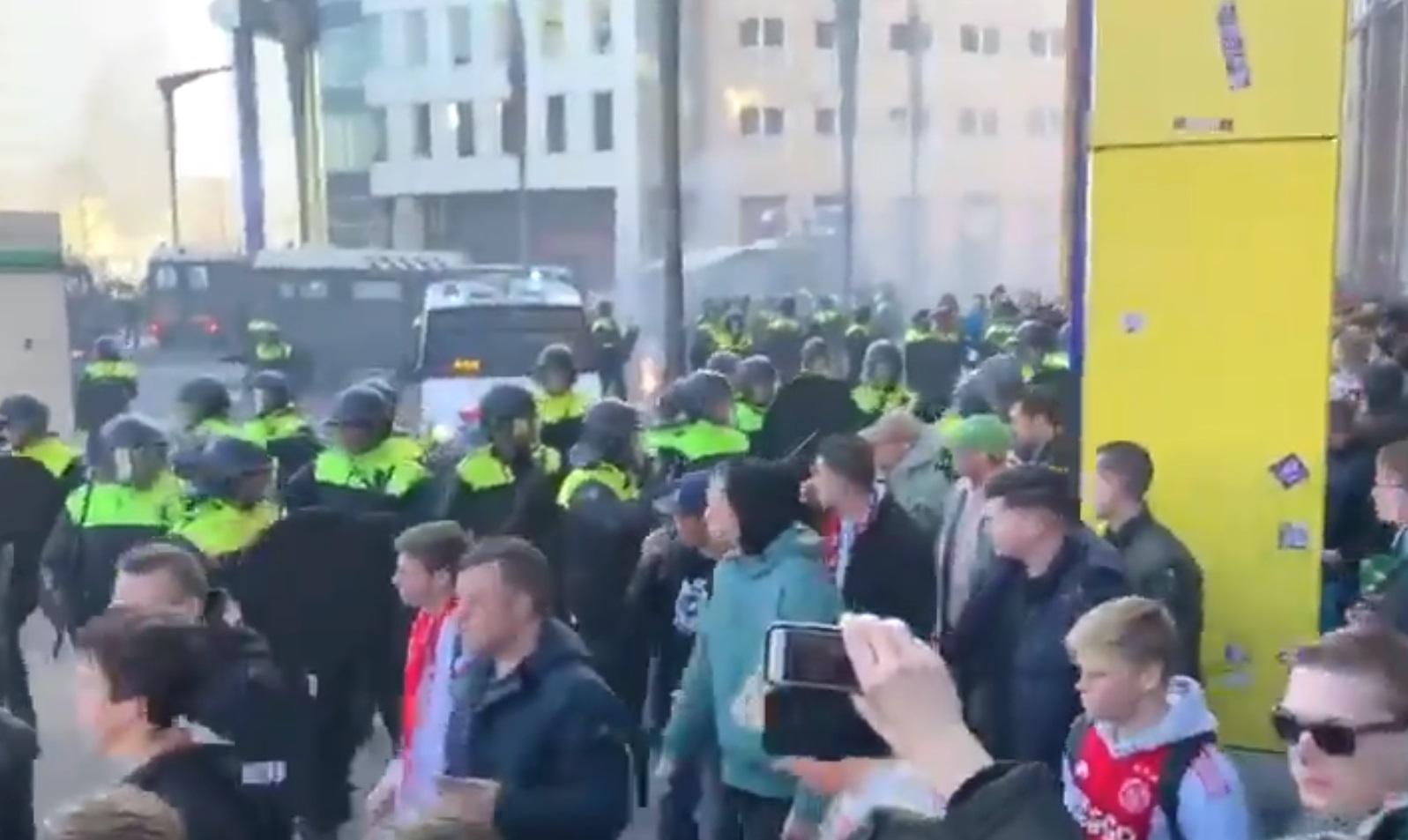 chaos bij arena