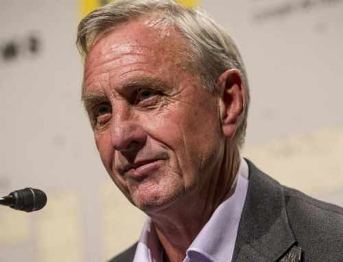 Johan Cruijff in Amsterdam