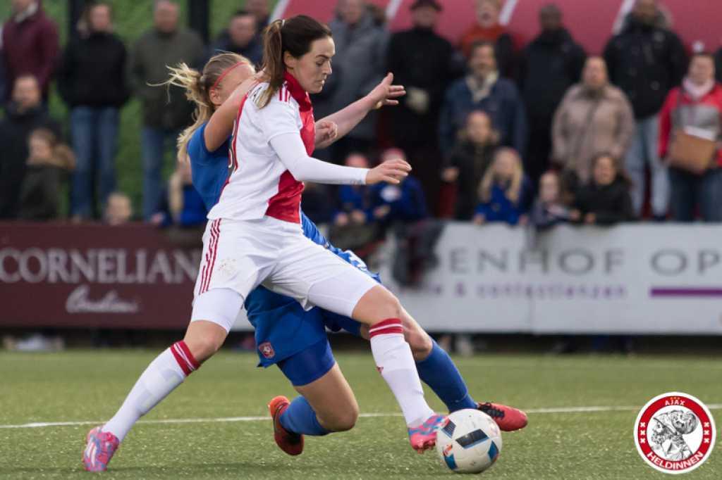 Ajax Vrouwen moeizaam langs Heerenveen