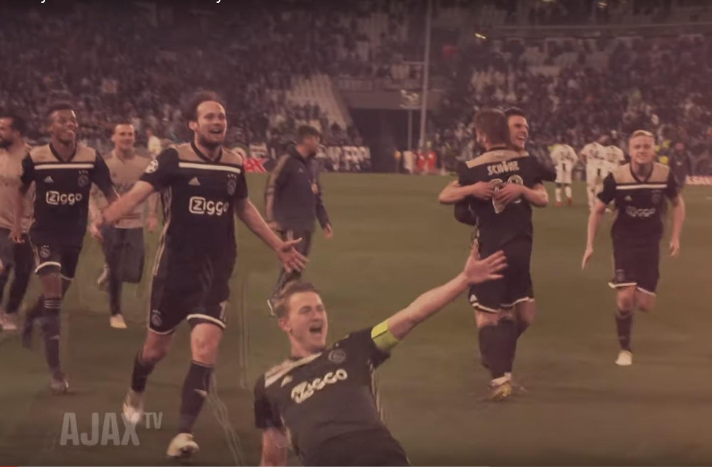 Ajax heeft boodschap aan Europa