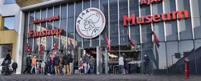 uitshirt van Ajax