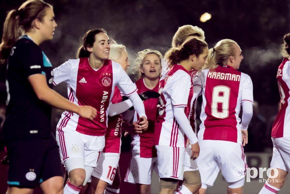 Ajax Vrouwen verslaan ook concurrent FC Twente