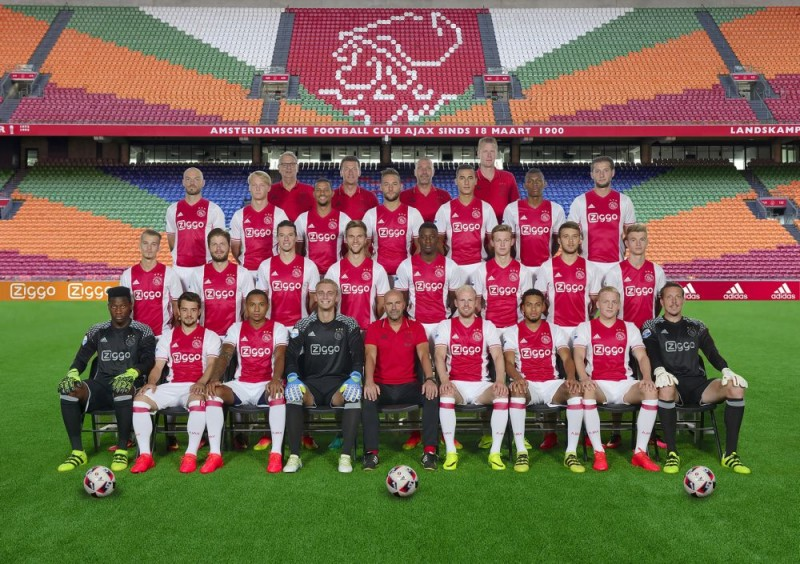 teamfoto ajax
