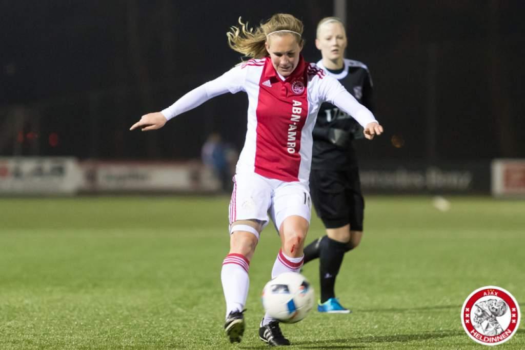 Eerste puntverlies van 2017 voor Ajax Vrouwen